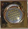 3951 Oro Cuadrado 70x53  Sin Lampara Led