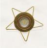 3636 Estrella 5 Forja Fuego Lampara LED no Incluida