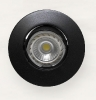 3650 Aro G99 Negro Texturado  Lampara LED no Incluida