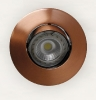 3658 Aro G99 Cobre Satinado  Lampara LED no Incluida