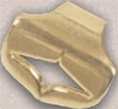 0228 Soporte Plafón Medio Oro
