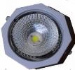 4840/18 DUCTO OCTAGONAL BLANCO COM LED 7599/F S/Cristal