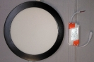 3519 DUCTO LED COMPACTO NEGRO 18W.