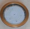 4730/7595 DUCTO COBRE SATINADO DISCO ALTO RENDIMEINTO  20w. 2200Lum.