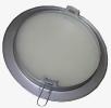 4778/1 Ducto Vista Interior Plata Metalizado con Cristal