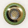 4642/3575 Cuerda Verde Oro G83 Oro Brillo