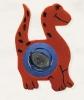 4926/3573  Dino Naranja + G83 Forja Azul
