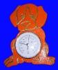6956 Barometro con Perro Naranja
